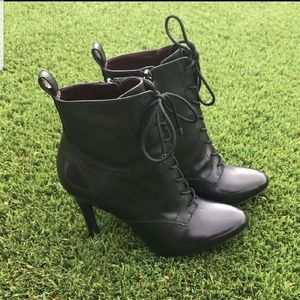 BCBGenation Black lace up boots